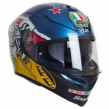 AGV K5-S Guy Martin 3-Some Replica Motorcycle helmet ECE2205 Model