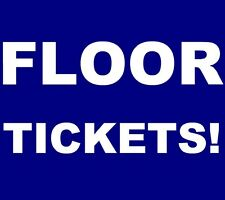 The National tickets Las Vegas The Joint at Hard Rock Hotel Casino 1/20 *FLOOR!*