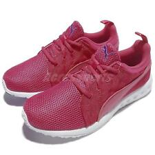 Puma Carson Cross Hatch Wns Red Pink Womens Running Shoes 189813-02