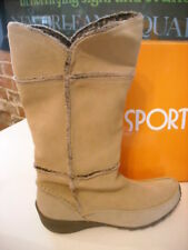 Sporto Patch Taupe Suede Waterproof Thermolite Boots New