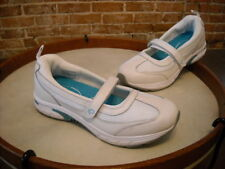 POE Power of Essentials Grace White & Turquoise Maryjane Tennis Shoe New