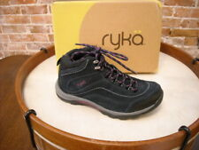 Ryka Navy Blue Suede Water Resistant Hiking Boot NEW