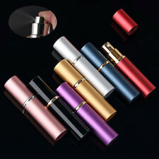 Solid Easy Fill Refillable Portable Travel Atomizer Perfume Bottles Case 5ml