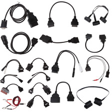 10/12/16/20/22/38 Pin OBD OBDII Connector Adapter Cable Male To Female