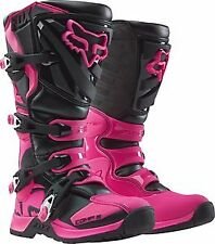 Fox Racing Comp 5 2016 Womens MX/Offroad Boots Black/Pink