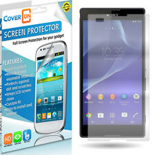 Clear Screen Protector for Sony Xperia T2 Ultra - Phone LCD Cover Guard