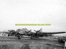 USAAF B-17-F Bomber Knock Out Dropper Black n White Photo Military  WW2 1943