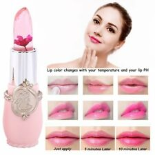 Magic Jelly Flower Color Changing Lipstick Moisturizer Women Lip Gloss Cosmetic