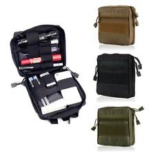 Tactical Molle EMT First Aid Medic Kit Pouch Utility Tool Organizer Bag 1000D