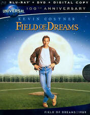 FIELD OF DREAMS (Blu-ray/DVD, 2012, 2-Disc Set) New / Sealed / Free Shipping