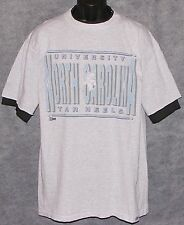 Vintage 1990's Carolina UNC TARHEELS T-Shirt SALEM Gray NCAA NWT NEW Old Stock