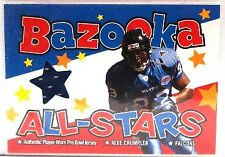 2004 Bazooka Football Insert/Parallel/Jersey Singles (Pick Your Cards)