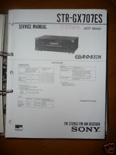 Service Manual  Sony STR-GX707ES Receiver,ORIGINAL