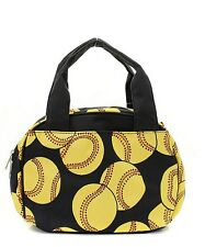 Softball Insulated Lunch Tote Bag-- Lunch Bag-Back to school - Few in STOCK