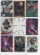 Houston Texans LOT #1 BLOWOUT - Serial #'d - Rookies - ** FREE COMBINED SHIPPING