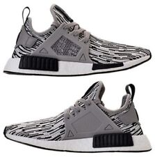 ADIDAS NMD RUNNER XR1 2017 CASUAL MEN's CORE BLACK - MULTI GREY - WHITE NEW SIZE