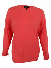 Charter Club Women's Ribbed Cashmere Crewneck Sweater