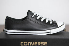 New Converse Chucks All Star Dainty Low Trainers Leather 537107C (79) Sz 42