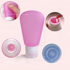 Refillable Silicone Bottle Travel Kit Lotion Bath Shampoo Containers Striking