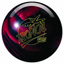 Storm Tropical Storm Bowling Ball - Black/Cherry Hybrid