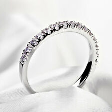 Women Fashion Platinum Plating Ring Thin Carved Pattern Finger Jewelry Dreamed