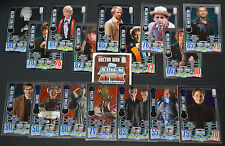 Topps Doctor Who ALIEN ATTAX 50th Anniversary Edition TCG - MIRROR FOIL cards