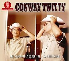 The  Absolutely Essential 3-CD Collection by Conway Twitty (CD, Apr-2016, 3 Disc