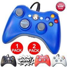 (1 or 2pcs) Wired Controller Pad For Official Microsoft Xbox 360 Windows PC SE