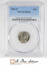 MS66 1983-P Roosevelt Dime - Graded PCGS *1527