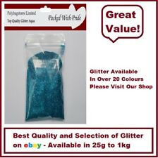 AQUA GLITTER - BULK PACKS - NAIL ART - WINE GLASS - ARTS & CRAFTS 100g - 1Kg