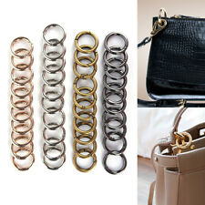 10Pcs New Metal HIgh Quality Women Man Bag Accessories Rings Hook Key Chain Bag`