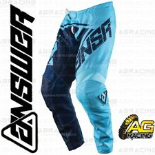 Answer 2018 Syncron Blue Navy Adult Race Pants Trousers Motocross Enduro