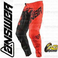 Answer 2018 Syncron Red Black Adult Race Pants Trousers Motocross Enduro