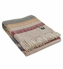 Special Alpaca Wool Cherokee Style Blanket Throw - Warm And Soft