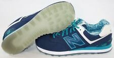 NEW Mens NEW BALANCE 574 ILB Blue Teal retro Training Running Sneakers Shoes