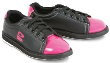 Womens Brunswick TZone Bowling Shoes Color Black/Pink Sizes 5 - 11