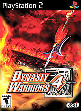 Dynasty Warriors 4 (Sony PlayStation 2, 2003) PS2 Complete