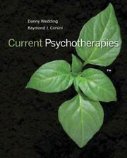 Current Psychotherapies by Danny Wedding Paperback Book Free Shipping!