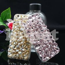3D Bling Crystal Diamond Rhinestone Shockproof Case Cover for Samsung Galaxy S9