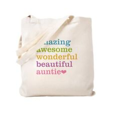 CafePress - Auntie - Amazing Awesome - Tote Bag
