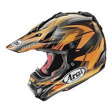 Arai VX-Pro 4 Dazzle MX Offroad Helmet Orange/Black
