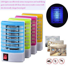 LED Socket Electric Mosquito Fly Bug Insect Trap Killer Zapper Night Lamp Light