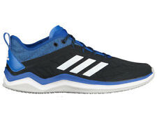 NEW MENS ADIDAS SPEED TRAINER 4 RUNNING SHOES TRAINERS BLACK / ROYAL