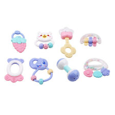 Baby Rattles Toy 6/8pcs Teether Music Hand Shaking Bed Bell Newborns Rattles Toy