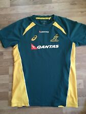 Australia Rugby Official training Jersey. Player Issue. Size M. Wallabies