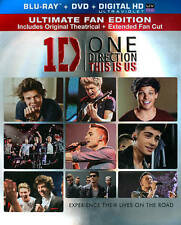 ONE DIRECTION This is Us 2 Disc Combo: Blu-ray / DVD BRAND NEW Sealed !!