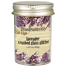 Stampendous Glass Glitter - resin jewelry making crafts scrapbooking