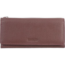 Roots 73 Slim Leather Clutch Wallet with RFID 3 Colors Women's Wallet NEW