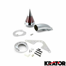 New Motorcycle Chrome Spike Air Cleaner Intake Filter For Yamaha RoadStar 1600
