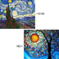 DIY Landscape Rectangle Paint By Numbers Kit Oil Painting Art Decor No Frame